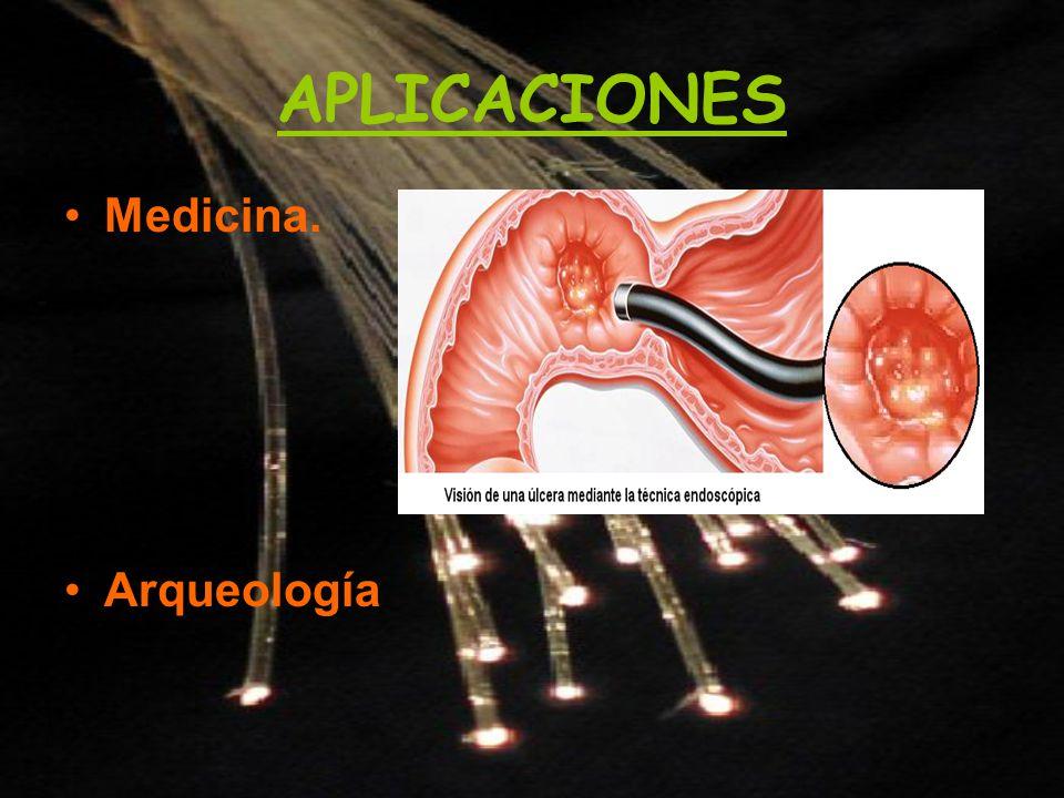 APLICACIONES Medicina. Arqueología
