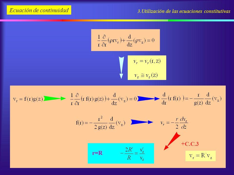 r=R +C.C.3 Ecuación de continuidad
