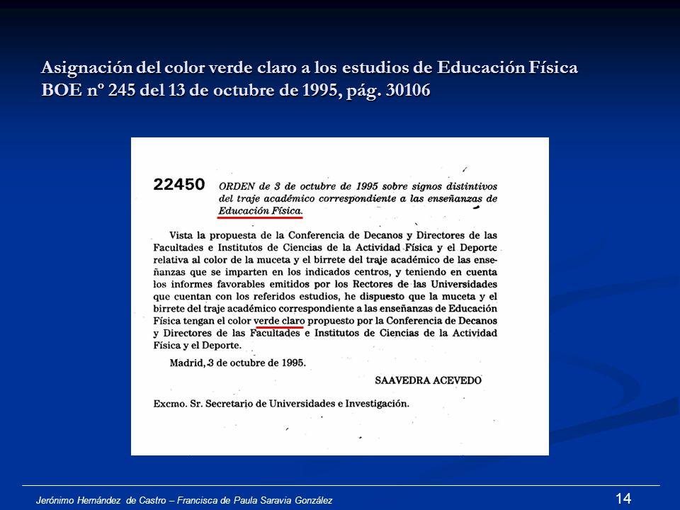 Jerónimo Hernández de Castro – Francisca de Paula Saravia González 13 2. Estado de la cuestión y problemática actual 2Aportaciones de Conferencias de