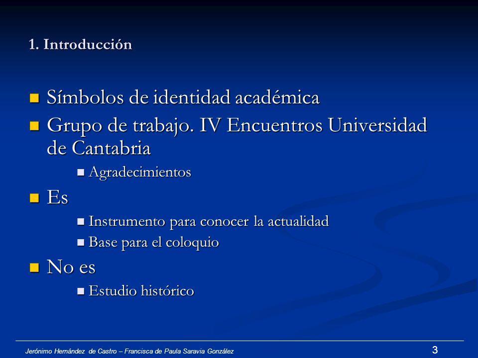 Jerónimo Hernández de Castro – Francisca de Paula Saravia González 2 Introducción Introducción Estado de la cuestión y problemática actual Estado de l