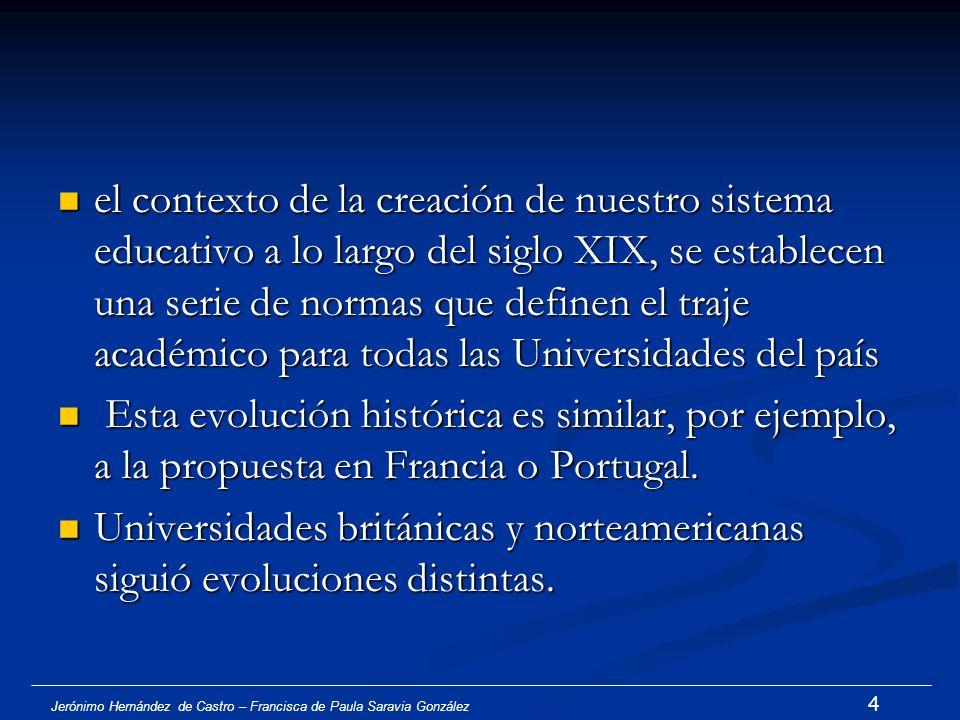 Jerónimo Hernández de Castro – Francisca de Paula Saravia González 3 1. Introducción Símbolos de identidad académica Símbolos de identidad académica G