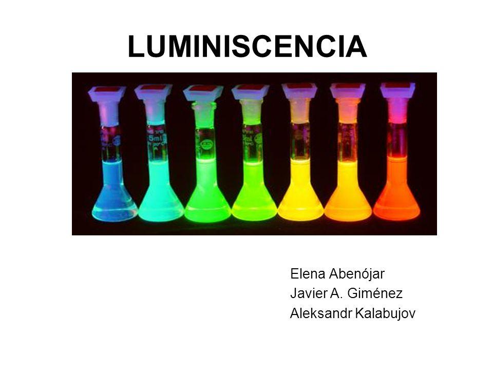 LUMINISCENCIA Introducción Fundamentos teóricos de la fluorimetría Descripción de la aplicación de la fluorimetría Factores que afectan a la fluorescencia Análisis de sustancias usando la fluorimetría Conclusión