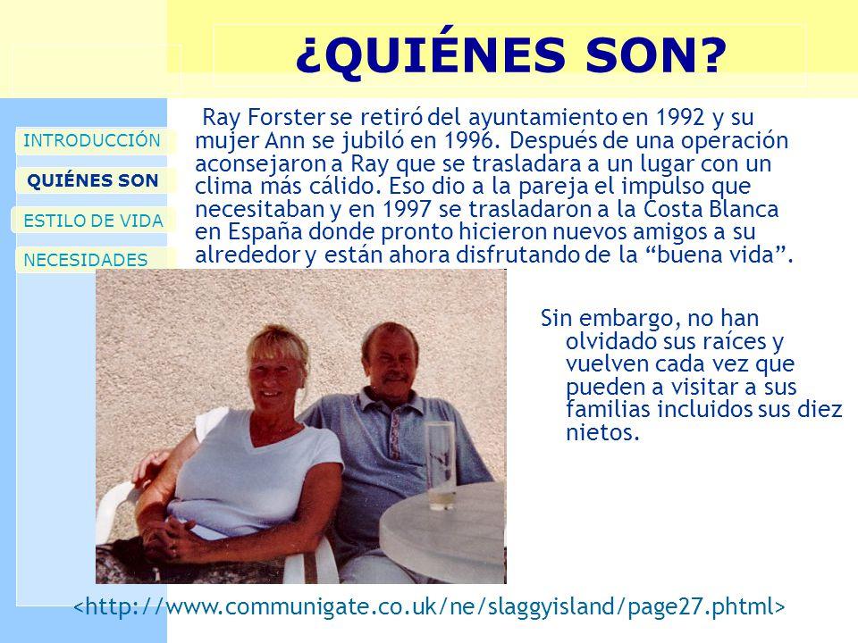 ¿QUIÉNES SON? Sin embargo, no han olvidado sus raíces y vuelven cada vez que pueden a visitar a sus familias incluidos sus diez nietos. INTRODUCCIÓN Q