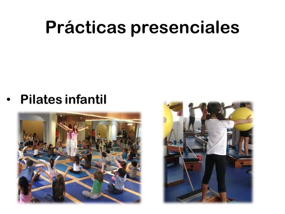 Prácticas presenciales Pilates infantil Pilates infantil