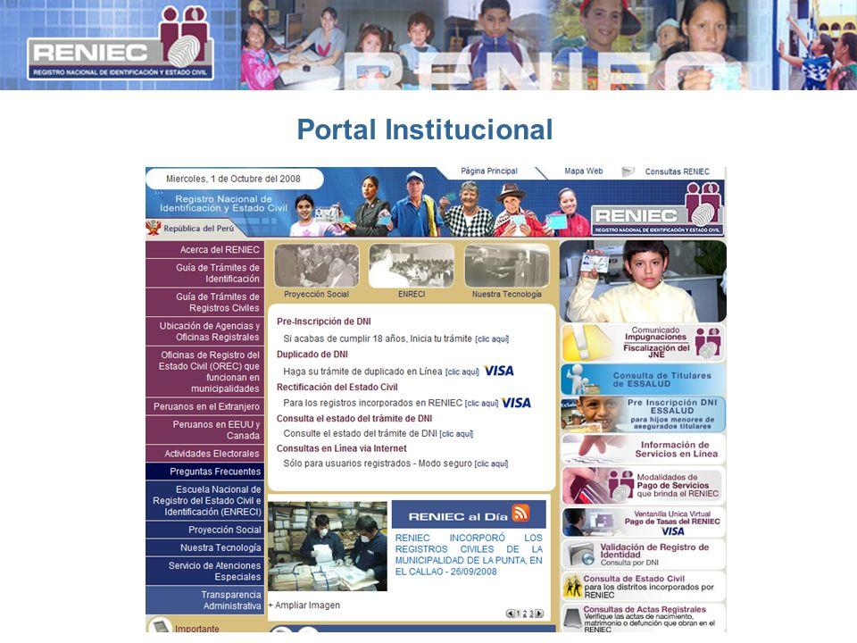 Portal Institucional