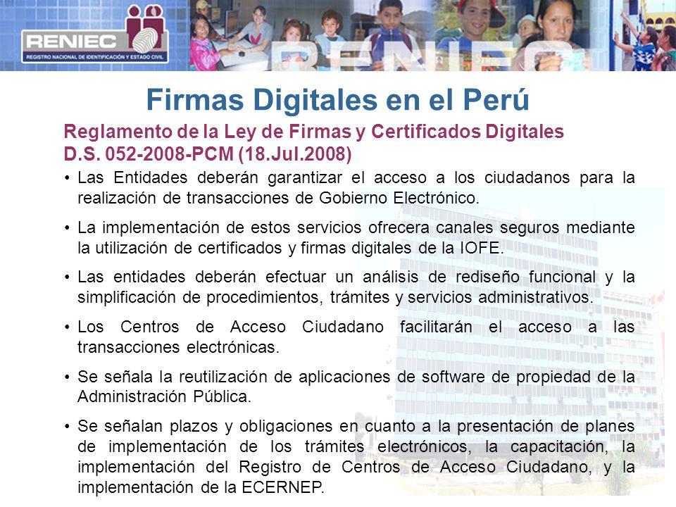 Las Entidades deberán garantizar el acceso a los ciudadanos para la realización de transacciones de Gobierno Electrónico.