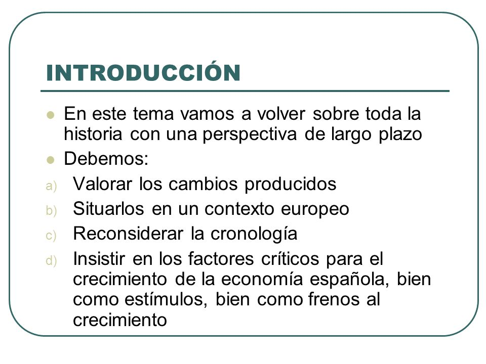 EL CAMBIO ESTRUCTURAL Las cifras absolutas dan información suplementaria Hay una gran estabilidad en la población dedicada al sector agrario Entre 1877 y 1960 el campo español dispondrá de más de 4 millones de activos masculinos