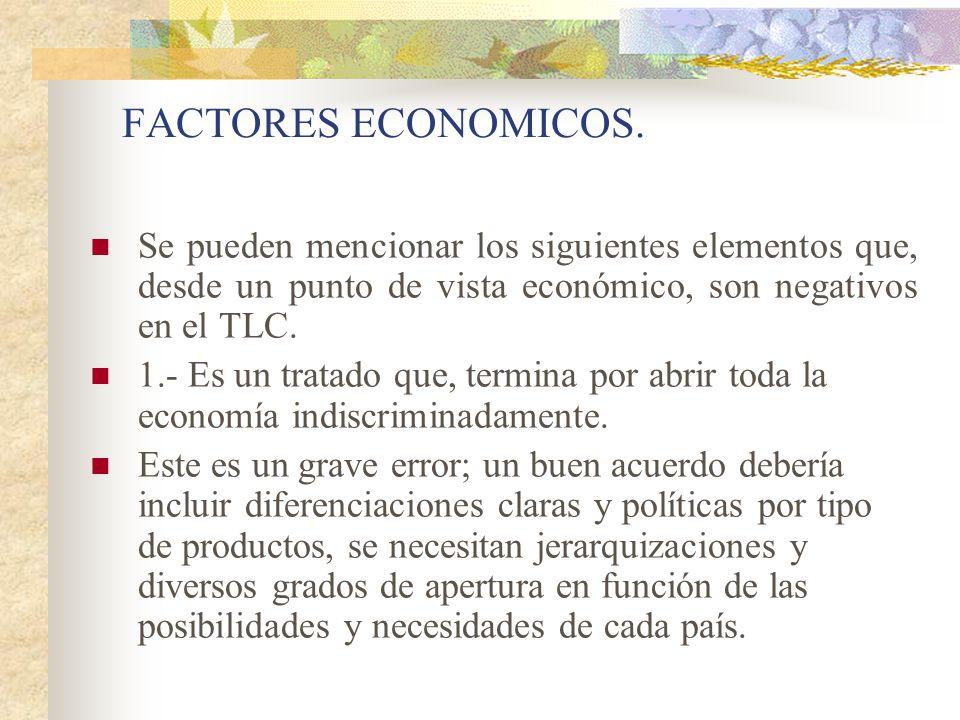 LA TRIADA EXCLUYENTE 4.- ALGUNAS IDEAS SOBRE EL TLC COMO PARTE DEL TRIÁNGULO DEI PODER Y DE LA ZONIFICACIÓN TRIÁDICA.