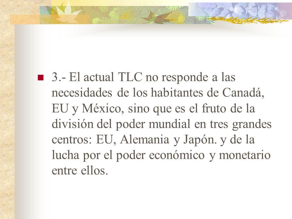 Por eso, si los precios se determinan en función de las grandes empresas de los EU, entonces las empresas mexicanos (que son mucho más pequeñas) solam