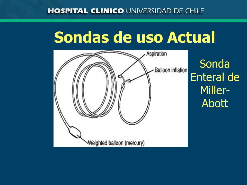 Sondas de uso Actual Sonda Enteral de Miller- Abott
