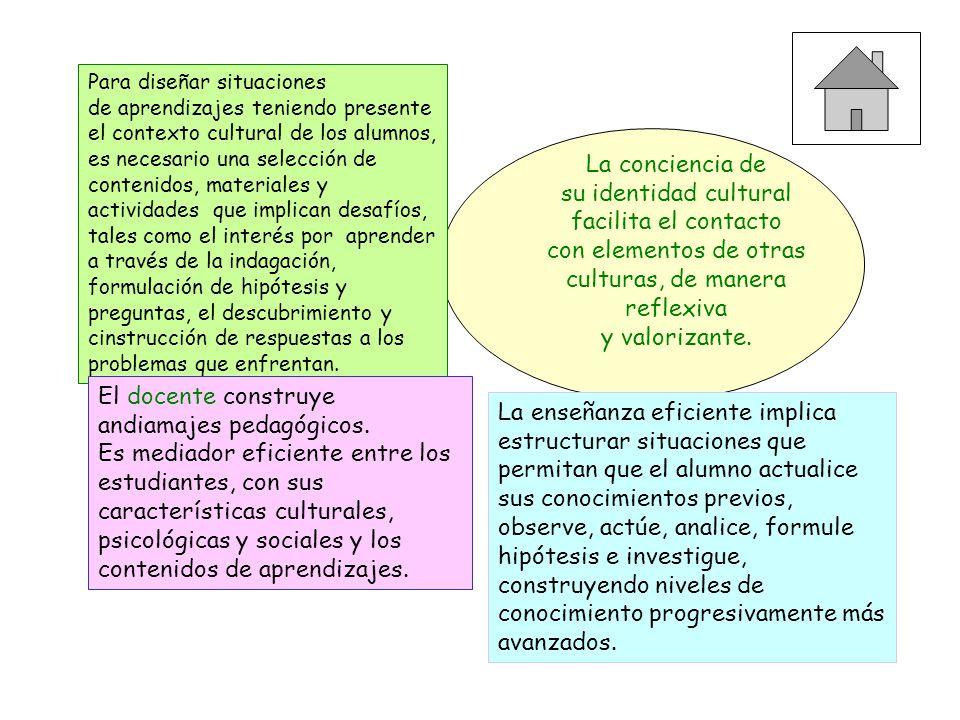 Principios Pedagógicos 3.- Los educadores asumen el papel de diseñadores de situaciones de aprendizaje en las que ofrecen a los alumnos un efectivo ap