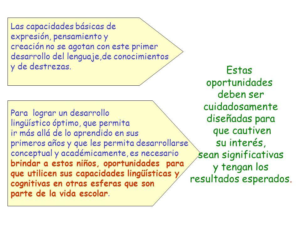 Principios Pedagógicos 1.Los maestros/as apoyan el desarrollo y expansión de las competencias lingüística orales que niños y niñas han alcanzado y lo