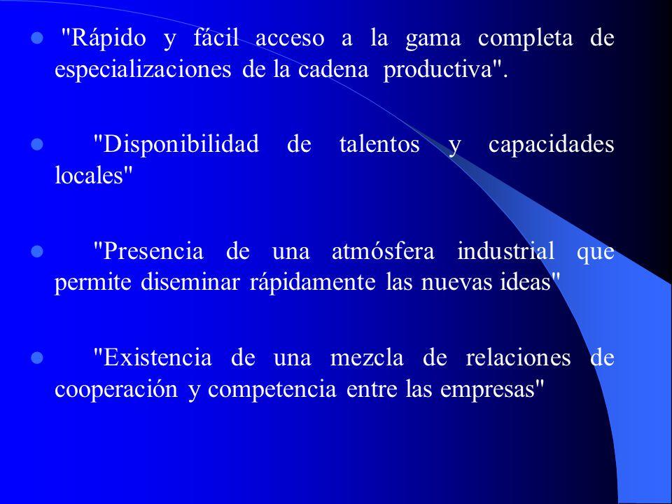 Mejorar el mercadeo de los productos en el país y en el extranjero. Mejorar la gestión administrativa. Fomentar la innovación. Las ventajas de los dis