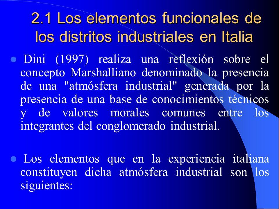 2. Posibilidad Reproducir Distritos Industriales (DI) en América Latina Los distritos industriales en Italia, España, Alemania, etc. han surgido debid