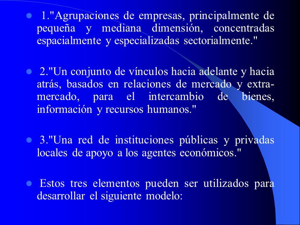 3. Sugerencia de un modelo para el desarrollo de DI Si bien no es posible reproducir las condiciones económicas, sociales, políticas y culturales que
