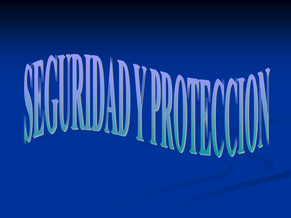 SEGURIDAD y PROTECCION EN SISTEMAS OPERATIVOS DE PROPOSITO GENERAL