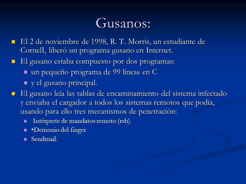 Gusanos: El 2 de noviembre de 1998, R.T.