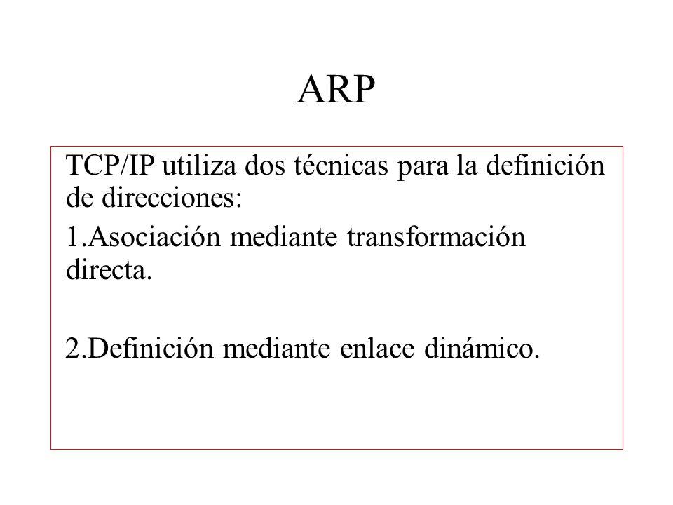 Encabezado ARP A diferencia de la mayor parte de los protocolos, los datos en los paquetes ARP no tienen un encabezado con formato fijo.