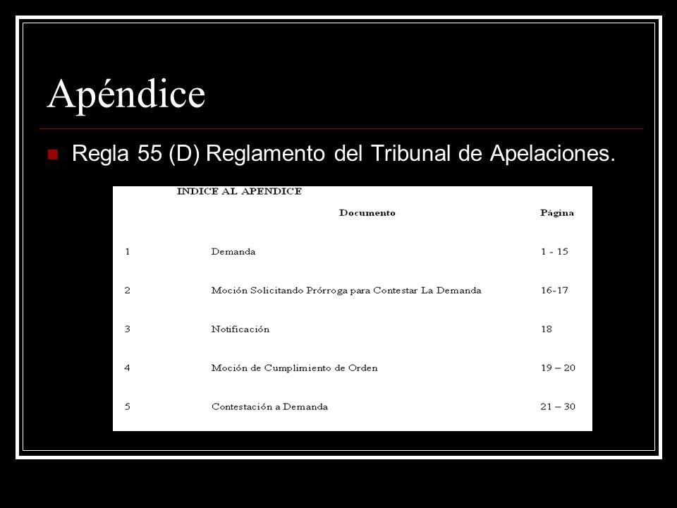 Otras Reglas y Disposiciones Aplicables Regla 8.1 Procedimiento Civil, Encabezamiento