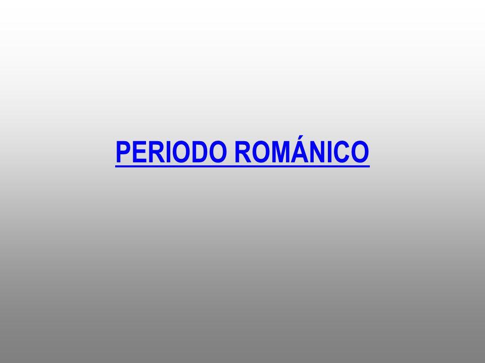 PERIODO ROMÁNICO