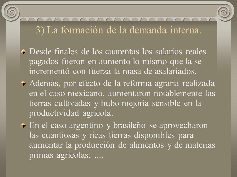 2) La competencia y rivalidad entre las empresas existentes. La industrialización no se llevó a cabo en términos de competencia y rivalidad, pero las