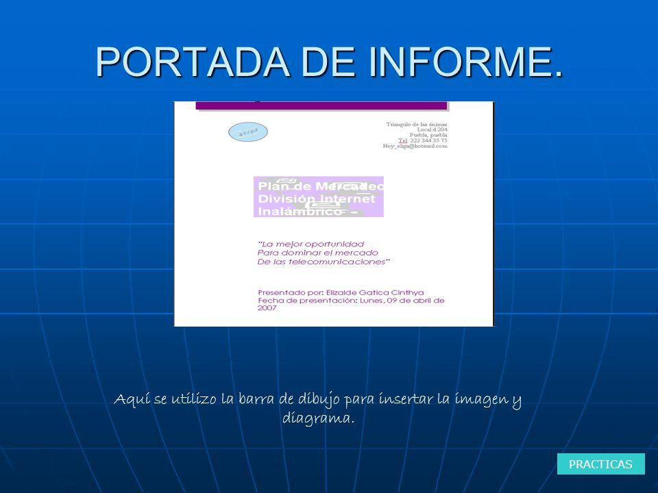 PORTADA DE INFORME.