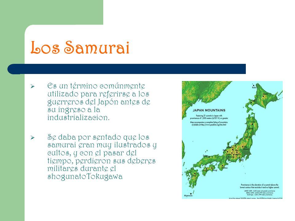 Es un término comúnmente utilizado para referirse a los guerreros del Japón antes de su ingreso a la industrializacion. Se daba por sentado que los sa