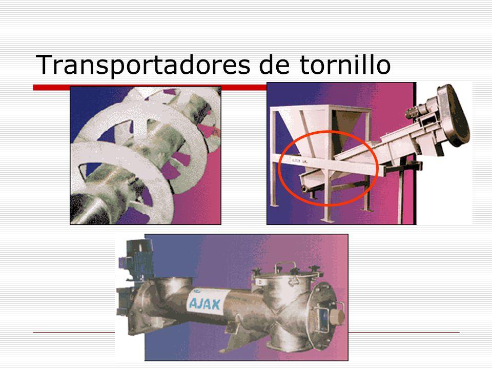 Transportadores de tornillo