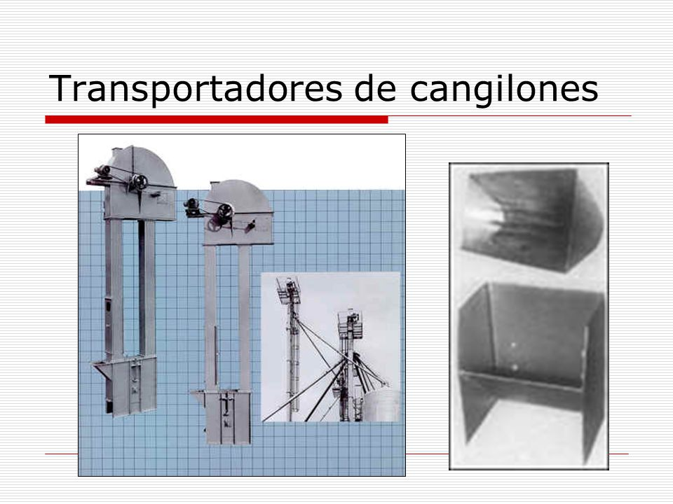 Transportadores de cangilones