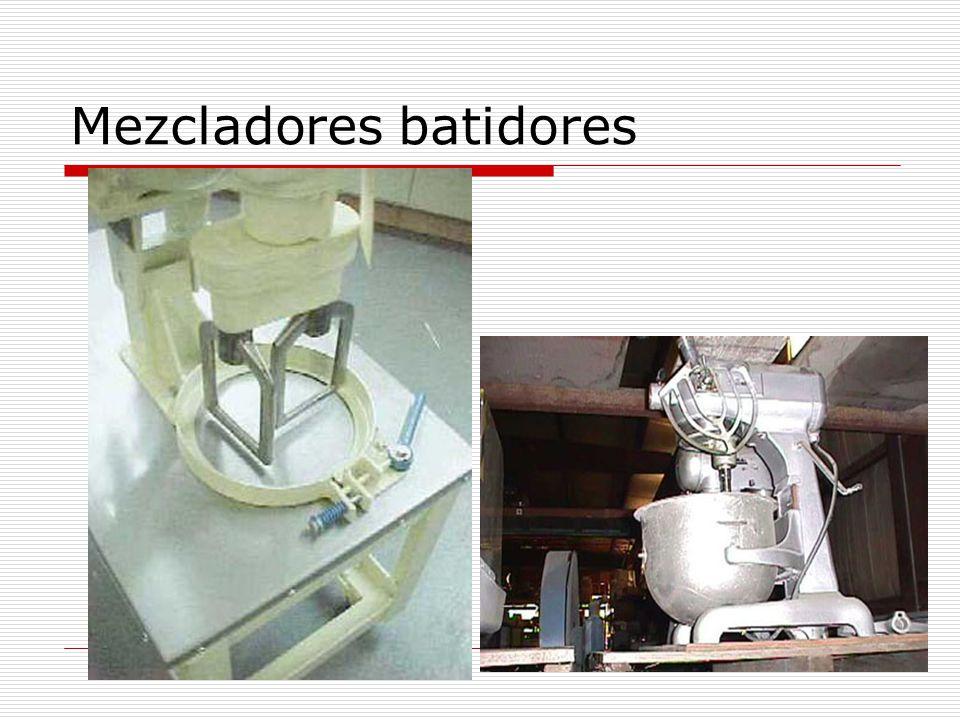 Mezcladores batidores