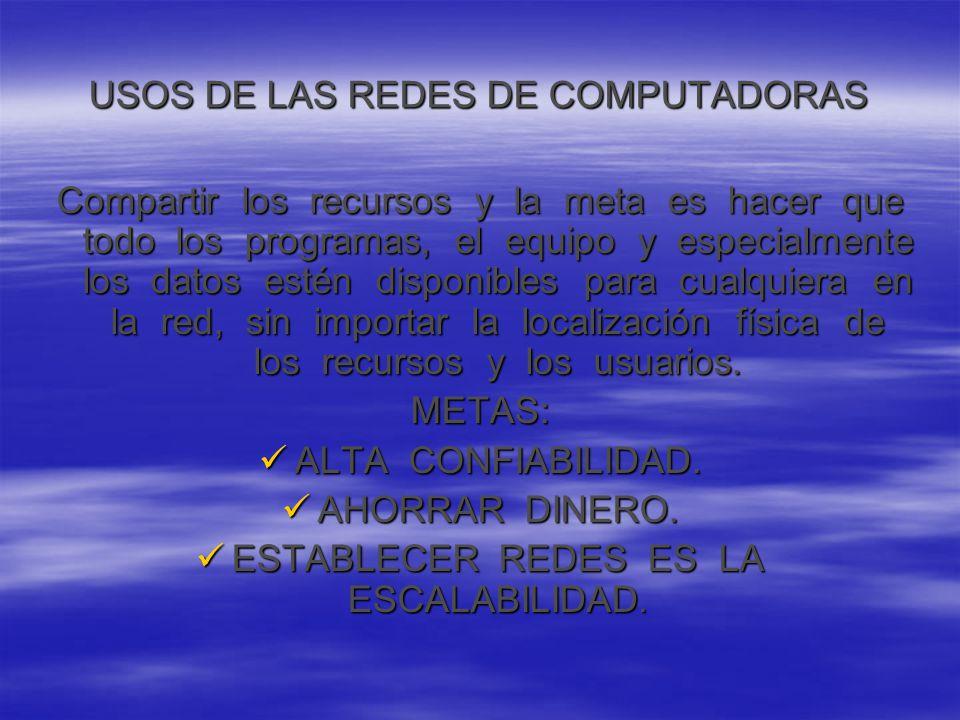 REDES PARA LA GENTE Al iniciar la década de 1.990, las redes de computadoras comenzaron a prestar servicios en su hogar.