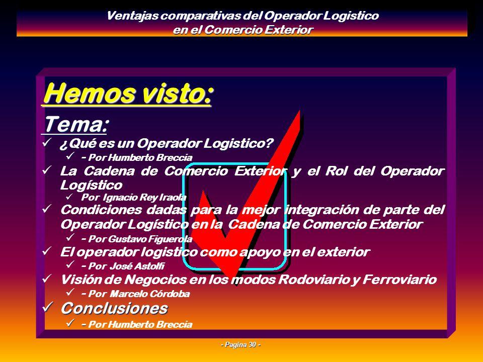- Pagina 29 - Zapatero a tus Zapatos: Se DEBE ser bueno en todo, pero NO se puede ser bueno en todo!!! En un mercado de competencia global, la especia