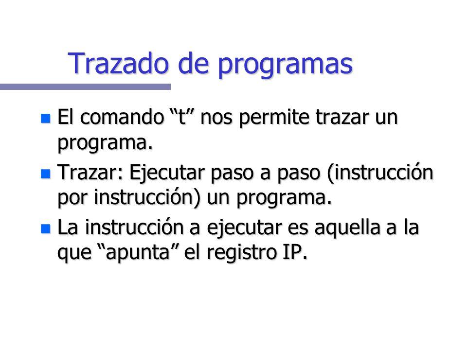 Registro de Banderas Activa (1)Inactiva (0) ------------------------------------------------------------------ OV: OverflowNV: No overflow DN: Directi