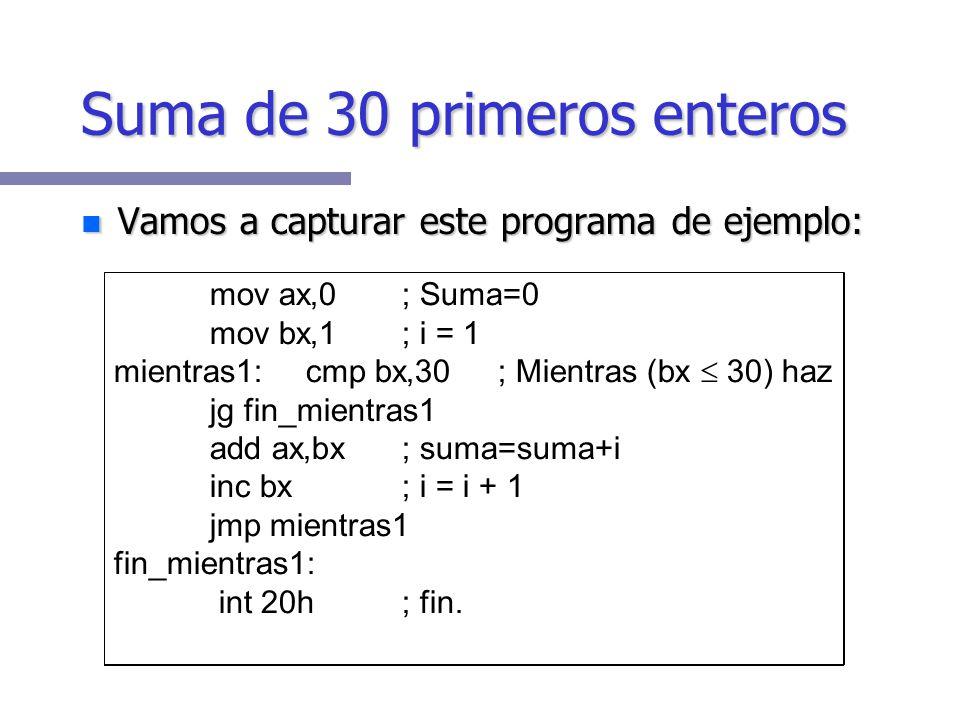 -r AX=0000 BX=0000 CX=0000 DX=0000 SP=FFEE BP=0000 SI=0000 DI=0000 DS=178D ES=178D SS=178D CS=178D IP=0100 NV UP EI PL NZ NA PO NC 178D:0100 B81000 MO
