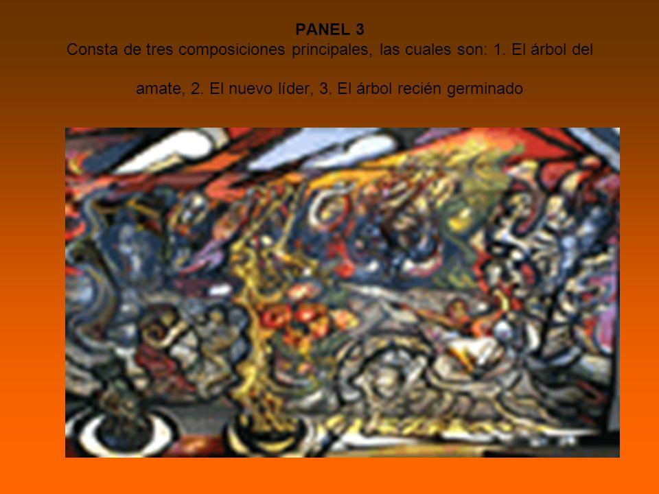 PANEL 3 Consta de tres composiciones principales, las cuales son: 1.