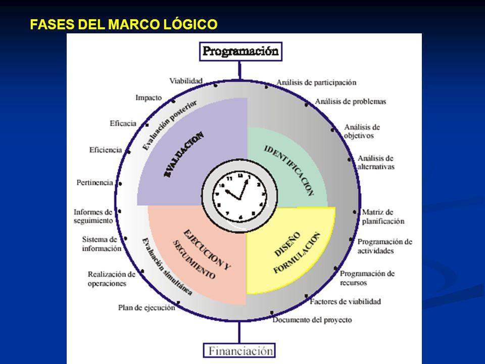 FASES DEL MARCO LÓGICO