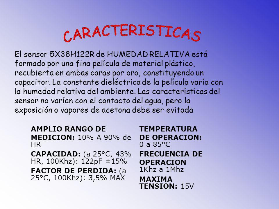 SENSOR DE HUMEDAD 5X38H122R CAPACITIVO - MEPCO/ELECTRA