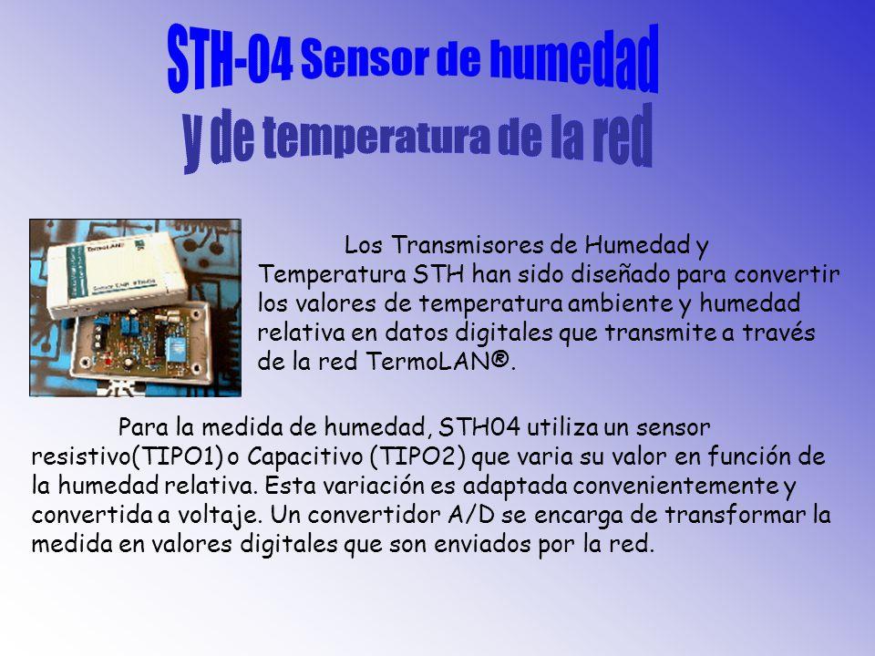 AMPLIO RANGO DE MEDICION: 10% A 90% de HR CAPACIDAD: (a 25°C, 43% HR, 100Khz): 122pF ±15% FACTOR DE PERDIDA: (a 25°C, 100Khz): 3,5% MAX TIEMPO DE RESPUESTA: entre 10 y 43% de HR 3 max entre 43 y 90% de HR 5 max TEMPERATURA DE OPERACION: 0 a 85°C FRECUENCIA DE OPERACION 1Khz a 1Mhz MAXIMA TENSION: 15V DEPENDENCIA CON LA TEMPERATURA:0,1% HR/°C NO SE DAÑA CON LA CONDENSACION