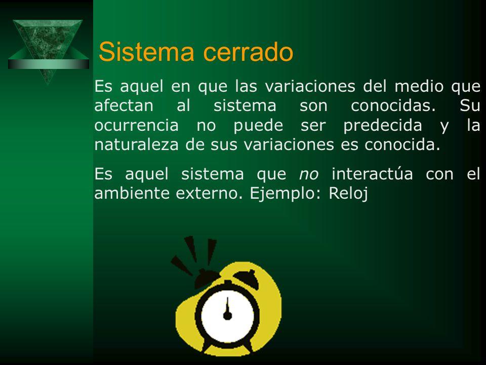 PROPIEDADES DE LOS SISTEMAS ABIERTOS -El estado constante o estabilidad del sistema(Retroalimentación negativa – homeostasis). -Adaptación al cambio e