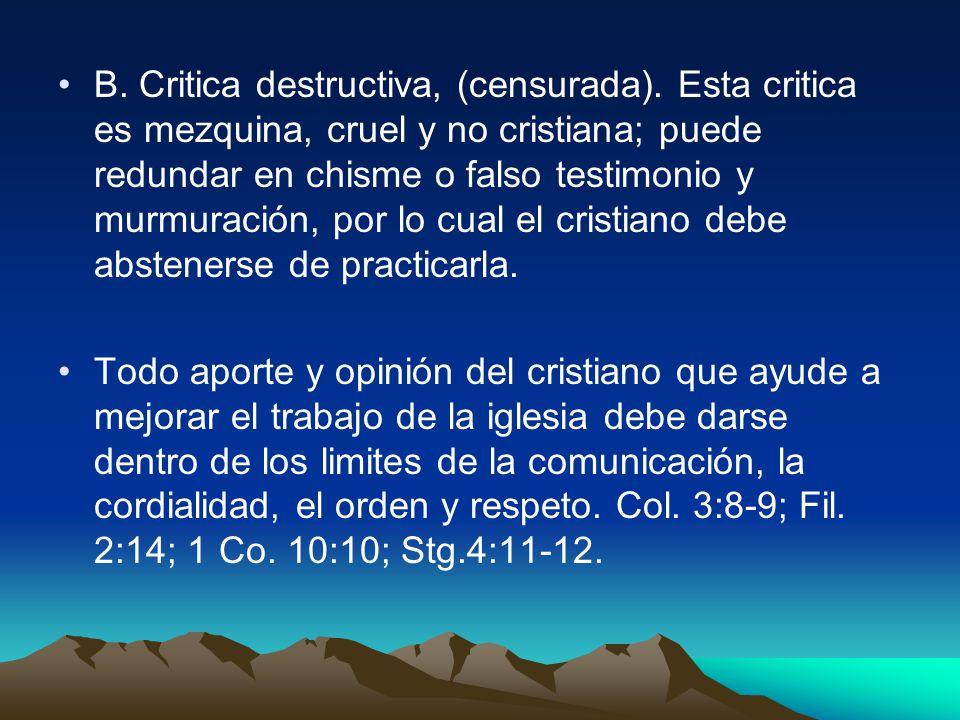 Muchos de nuestros hermanos caen debido a lo fatigado del camino, otros están débiles y necesitan ayuda. Ga. 6:1- 2; Mt. 7:1; 2 Ti.2:3-4. Existen Dos