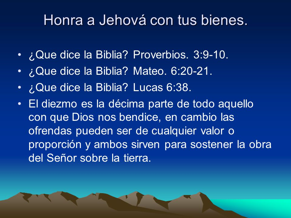 Propagar el evangelio es el negocio mas grande sobre la faz de la tierra. Luc.2:49. Muchos gastos son asumidos al llevar acabo la obra de Dios, y al c