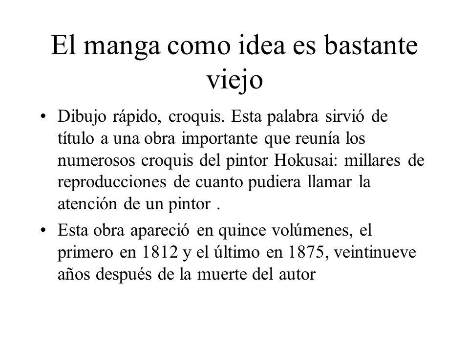 Manga significa dibujo irresponsable