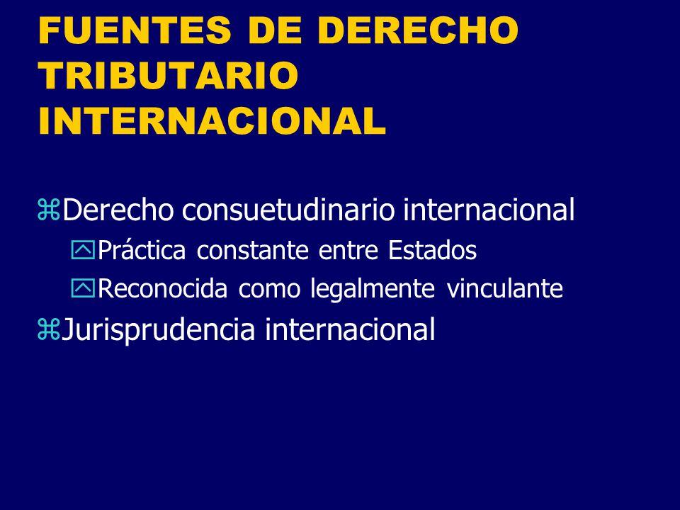 IMPUESTOS CON IMPACTO INTERNACIONAL zSobre el transacciones internacionales yDerechos de aduana (importación o exportación) yTasas portuarias y aeroportuarias yTasas sobre servicios de telecomunicaciones z Sobre las transacciones domésticas yImpuesto a las ventas xProductor xVendedor al detal o al por mayor xIVA