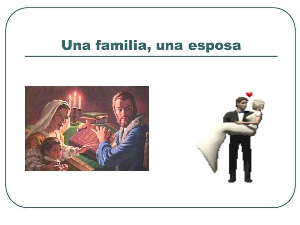 Una familia, una esposa