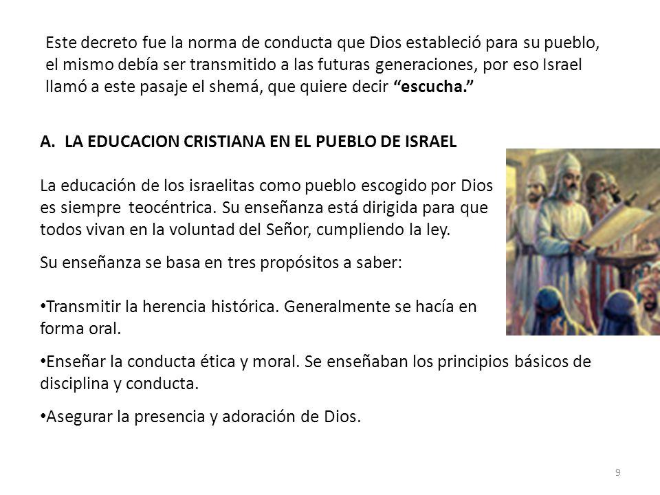 B.LA EDUCAION EN EL HOGAR: Deut.