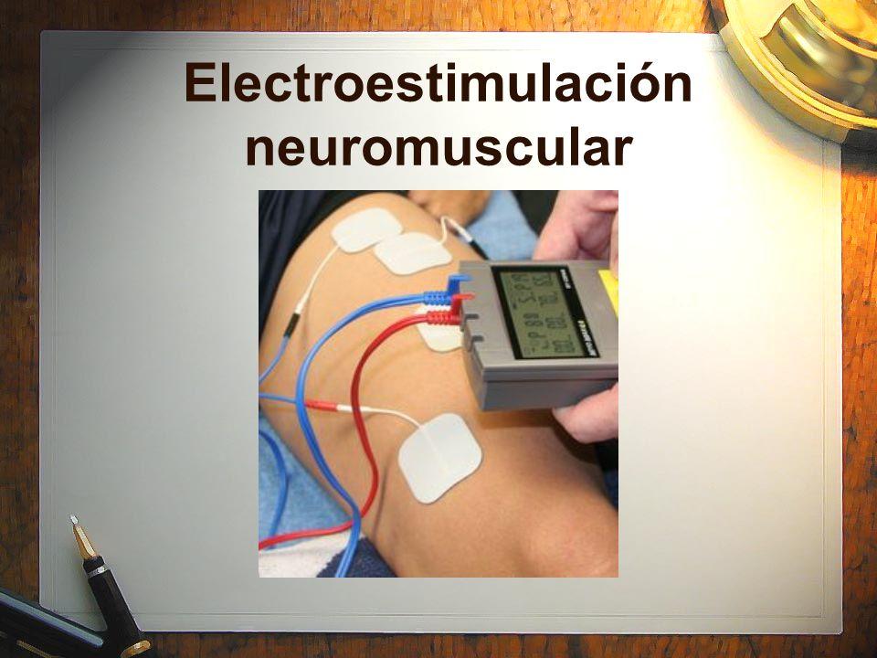 Electroestimulación neuromuscular