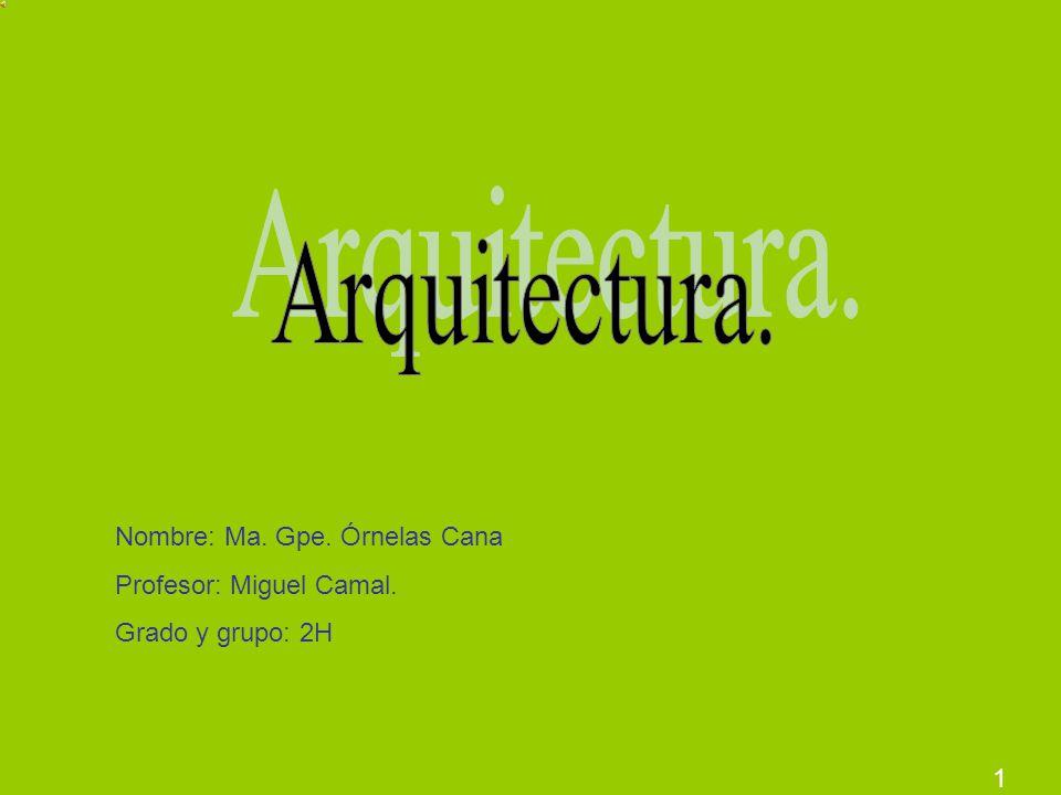 1 Nombre: Ma. Gpe. Órnelas Cana Profesor: Miguel Camal. Grado y grupo: 2H