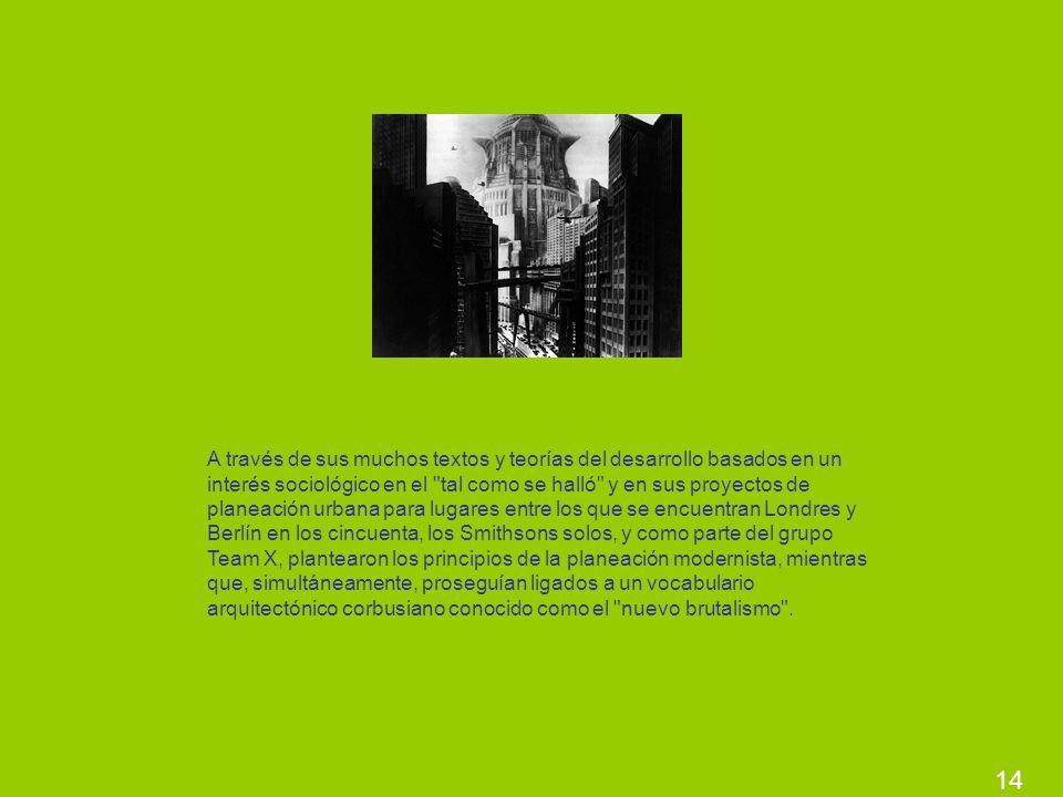 14 A través de sus muchos textos y teorías del desarrollo basados en un interés sociológico en el
