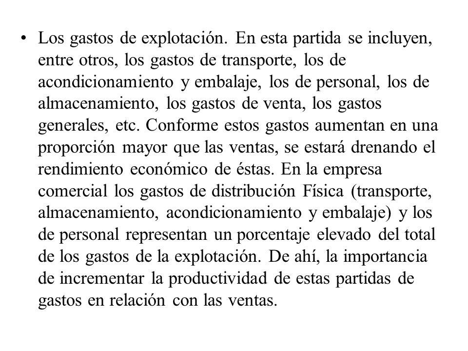 El otro factor determinante de la rentabilidad económica, LA ROTACIÓN (ROT), mide la eficiencia en el uso de los activos de la firma, y viene dado por el cociente entre las ventas (Y) y los activos totales (AT).