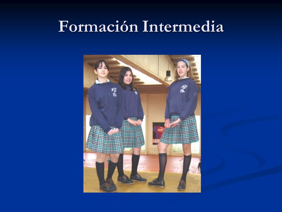 Formación Intermedia